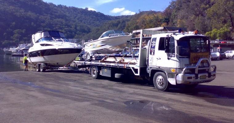 Boat Transport Beaumont Hills